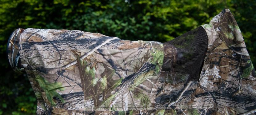 2. Teil zum Thema Tarnen – Die schnelle Variante Kiwi CamoTarnüberwurf