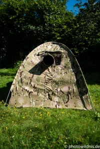 Frontalansicht WWS Mini Dome Hide